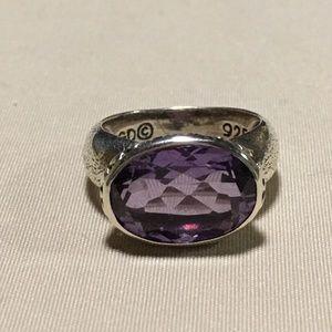 Jewelry - Sundance Catalog Amethyst Sterling Ring